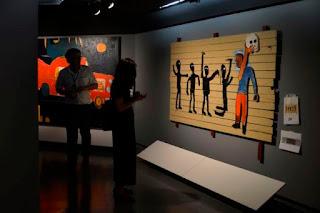 A exposição Jean-Michel Basquiat no CCBB-SP