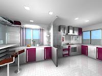 Terbaik Tahun Ini! Ide Design Lemari Dapur Minimalis untuk Layout U