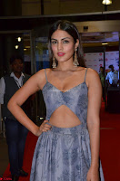 Rhea Chakraborty in a Sleeveless Deep neck Choli Dress Stunning Beauty at 64th Jio Filmfare Awards South ~  Exclusive 026.JPG