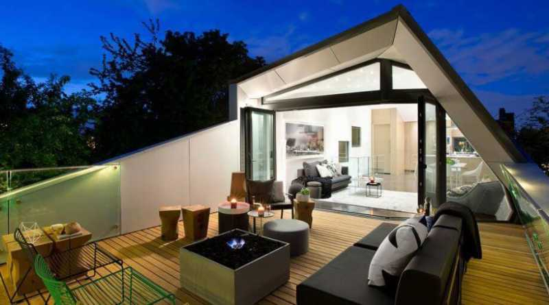 Various Types Of Modern Rooftop House Patio Design