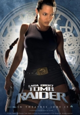 "Carátula del DVD: ""Lara Croft: Tomb Rider"""