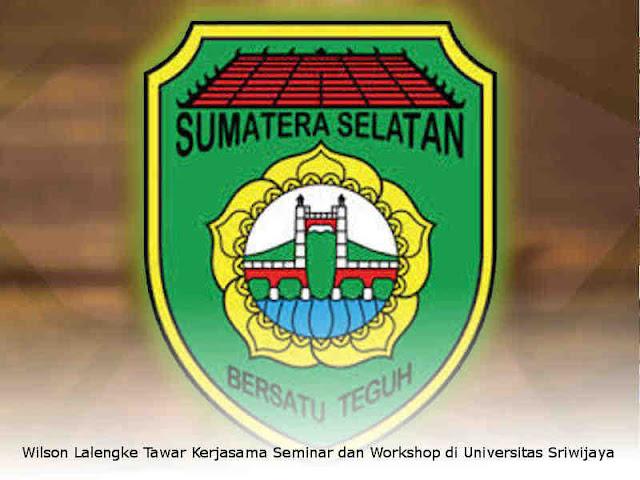 Wilson Lalengke Tawar Kerjasama Seminar dan Workshop di Universitas Sriwijaya Palembang
