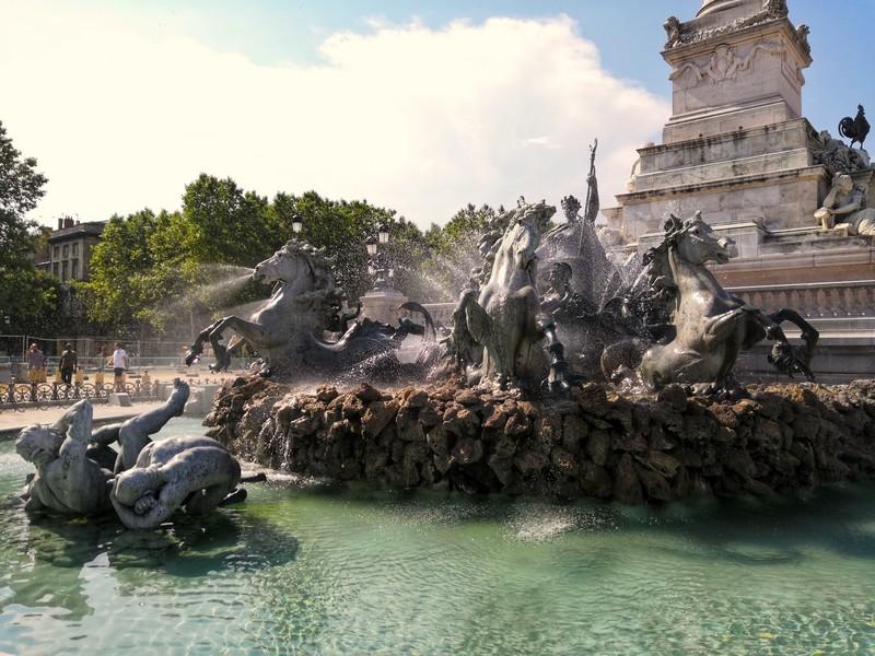 Fontaine des Girindins de Bordeaux