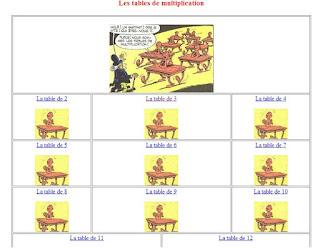 Des sites pour apprendre les tables de multiplication le - Site pour apprendre les tables de multiplication ...