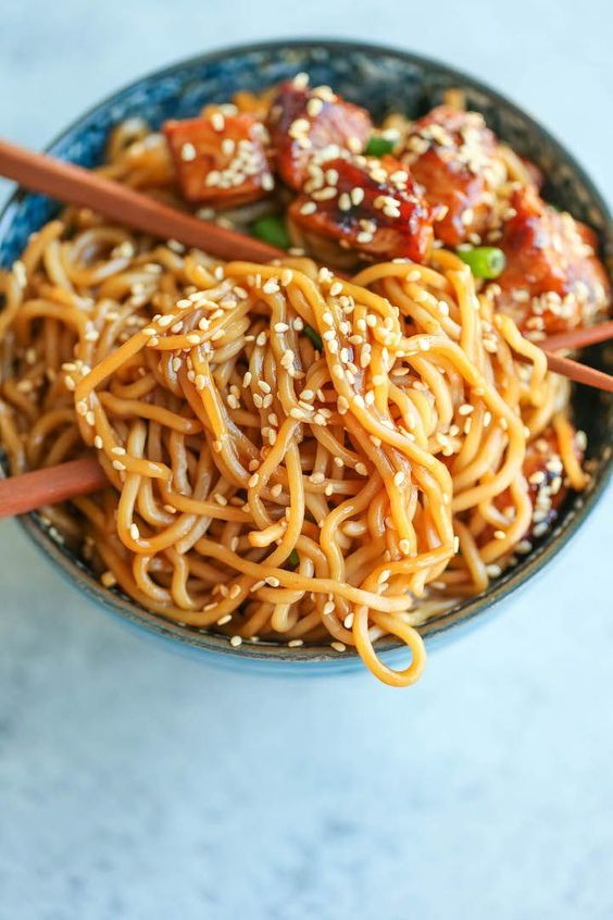 ★★★★☆ 7561 ratings | TERIYAKI CHICKEN NOODLE BOWLS #HEALTHYFOOD #EASYRECIPES #DINNER #LAUCH #DELICIOUS #EASY #HOLIDAYS #RECIPE #TERIYAKI #CHICKEN #NOODLE #BOWLS