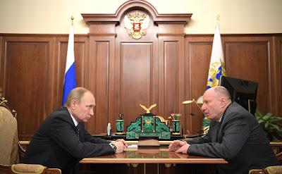 Vladimir Putin, Vladimir Potanin, Kremlin