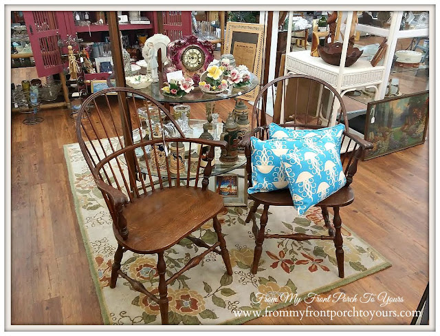 Antique Windsor Chairs- Bay Breeze Antiques-The Forgotten Coast- Port St. Joe Florida