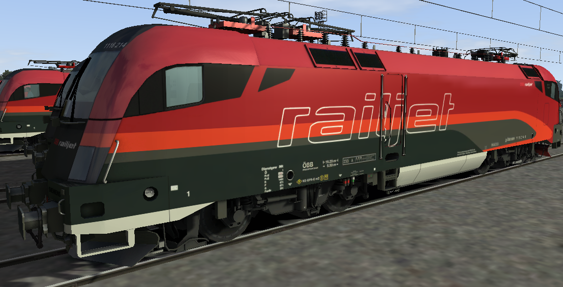 Taurus for Train simulator 2019/2017/2018/2016 Railworks