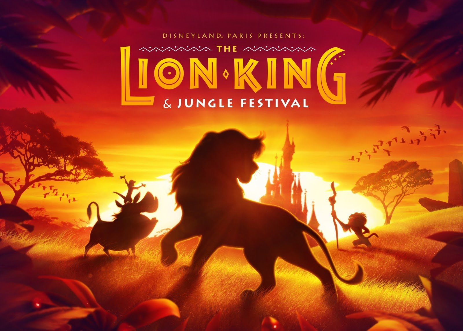 Festival of the Lion King and the Jungle Book DIsneyland Paris 2019