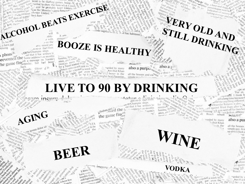 Drinking Your Way To Your 90s.