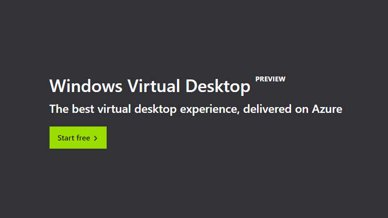 Windows Virtual Desktop is now available as public preview