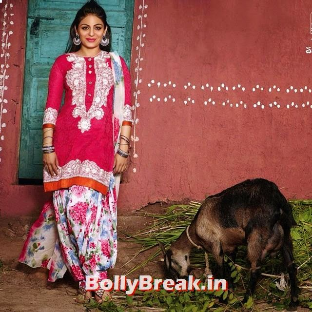 , Neeru Bajwa Punjabi Jatti Kudi Hot Pics in Salwar Kameez Suit