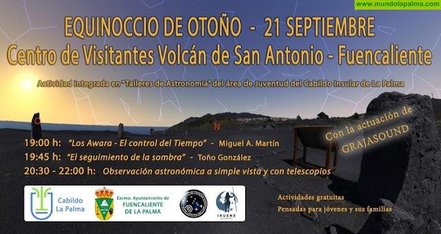 Equinoccio de otoño en el Centro de Visitantes del Volcán de San Antonio