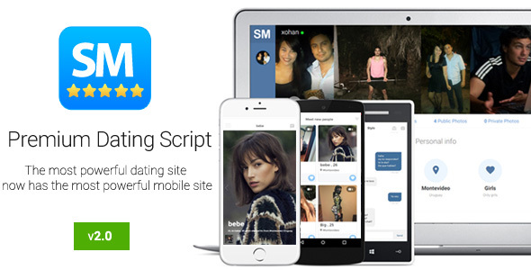 Social Match Pro v2.0 - Premium Dating Script ~ Codecanyon