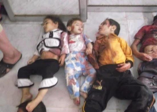 اطفال سوريا فلسطين
