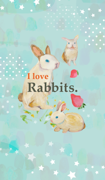 I love Rabbits.