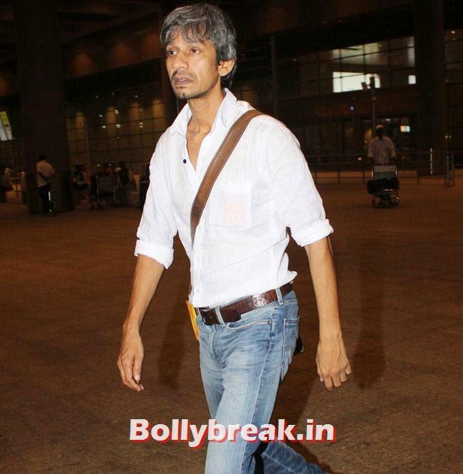 Vijay Raaz, Elli, Deepika, Kangana Arrive Back From IIFA
