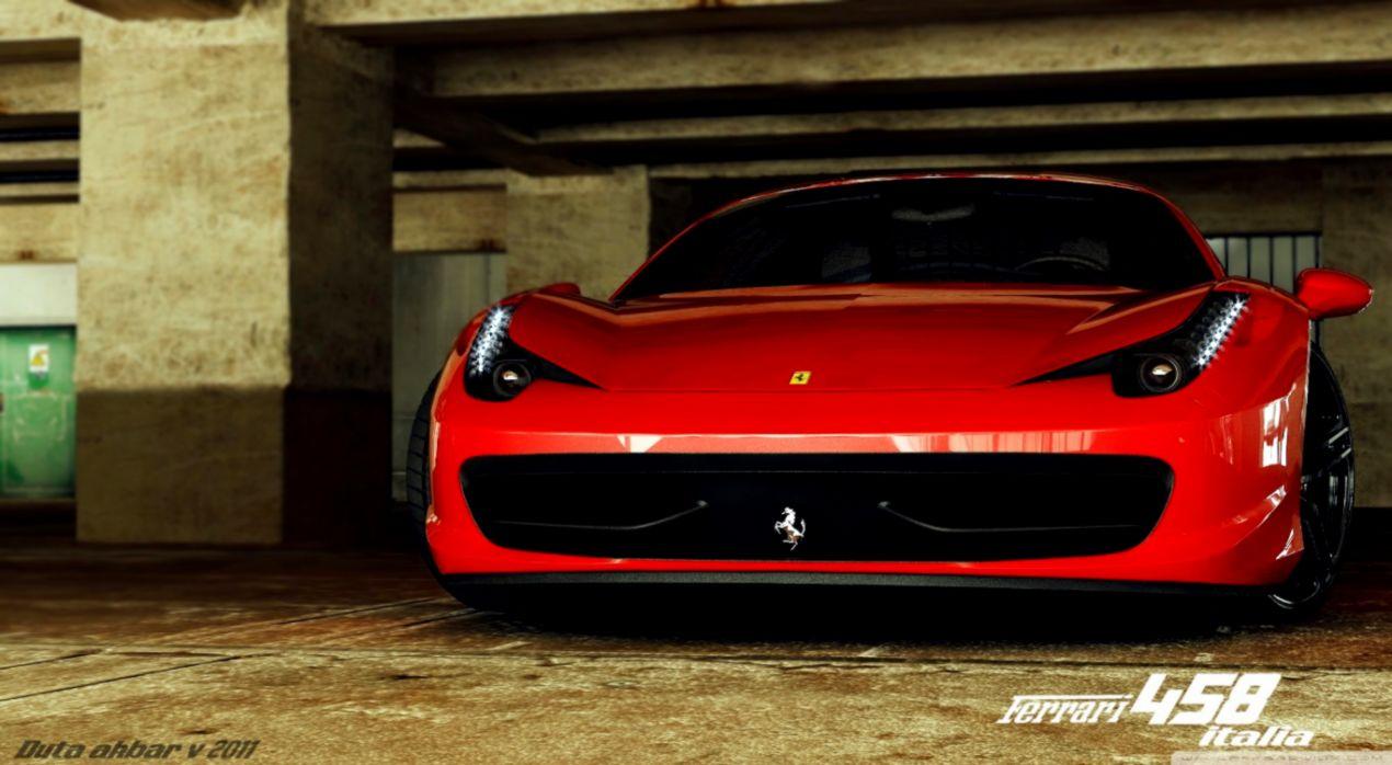 Ferrari 458 Italia Wallpaper Black Dekstop Wallpapers Jobs