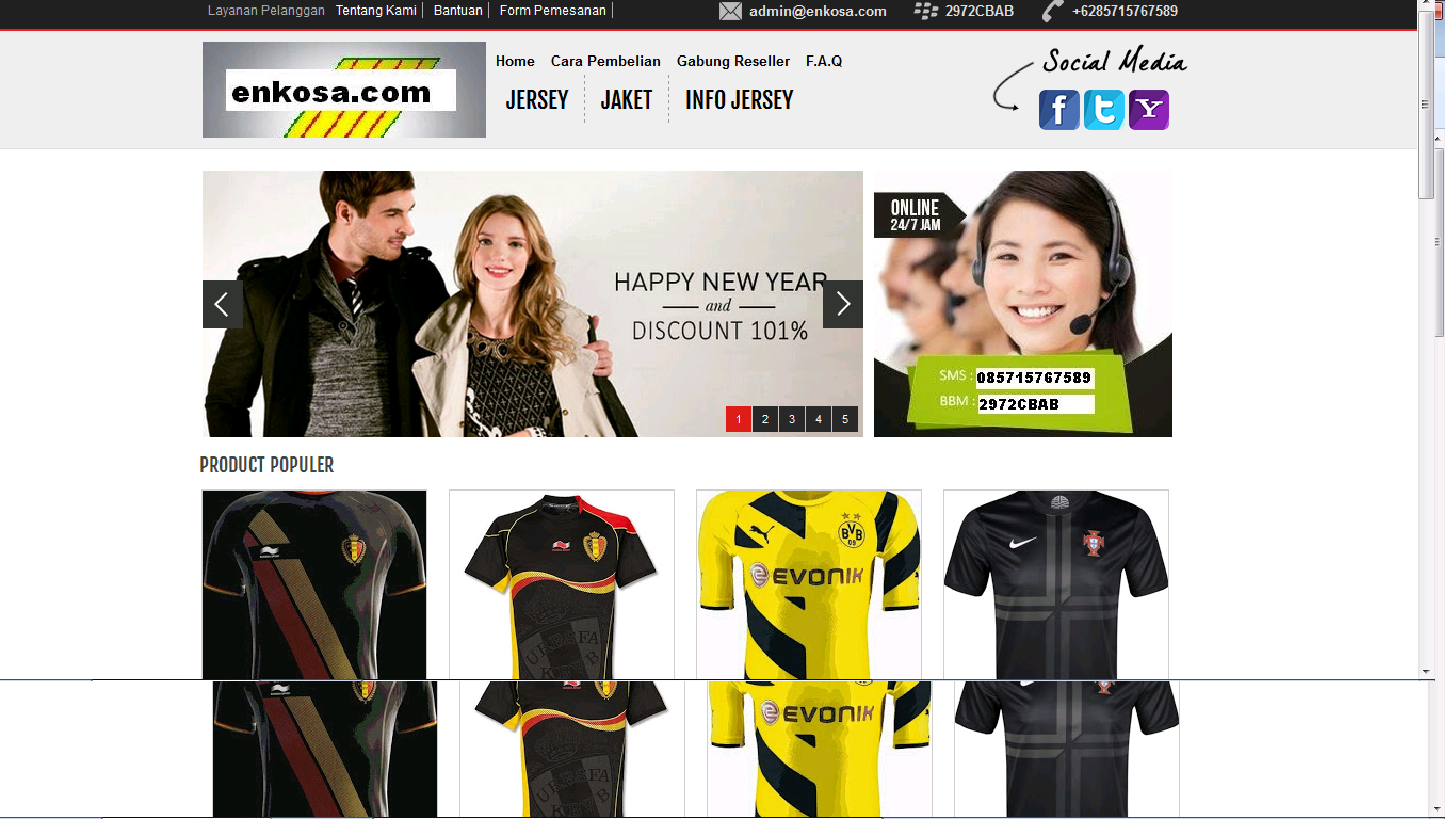 jersey bola, toko baju bola online, onlineshop pakaian jersey terlengkap