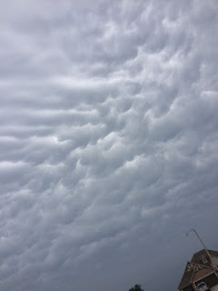 Mammatus Clouds in Oklahoma