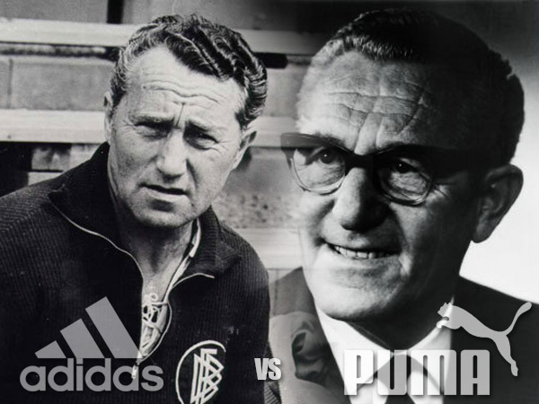 The Adidas vs Puma rivalry sprung from sibling rivalry. Fans identified  fiercely with their brands of choice. It was either one or the other. e27ffc197