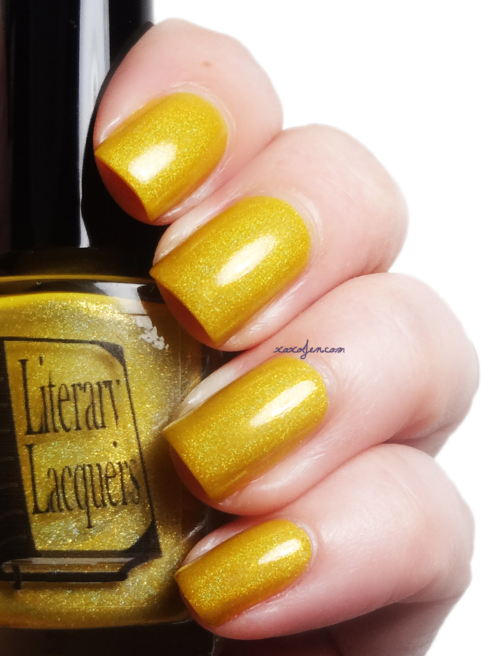 xoxoJen's swatch of Literary Lacquer Happy Medium