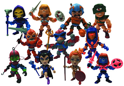 He-Man and the Masters of the Universe Action Vinyls Mini Figure Series 1 by The Loyal Subjects