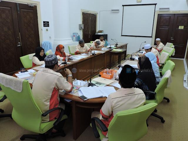 Mesyuarat AJK Persatuan Guru-Guru SAR KAFA Daerah Kuantan Bil 1/2016