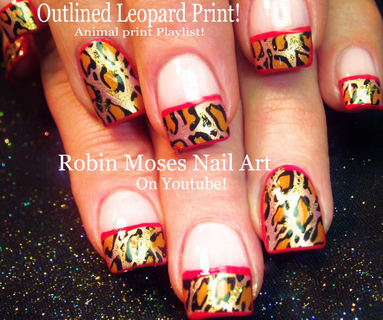 Nail art by robin moses september 2015 animal print nail art playlist easy nail art tutorials diy zebra leopard tiger nail designs solutioingenieria Images