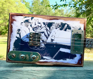 The American Legend, Jeep, cigar box guitar, Deep South CBG, body