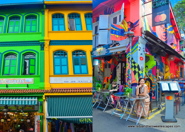 Hip scene in Haji Lane and Arab Street