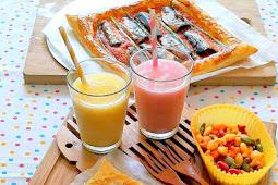 Sardines Puff Pastry Tart