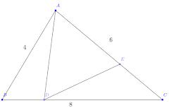 Penerapan Teorema Stewart dalam Segitiga
