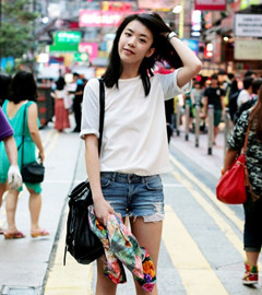 The new generation of fashion bloggers from Hong Kong, 16 year old girl Zoe Suen