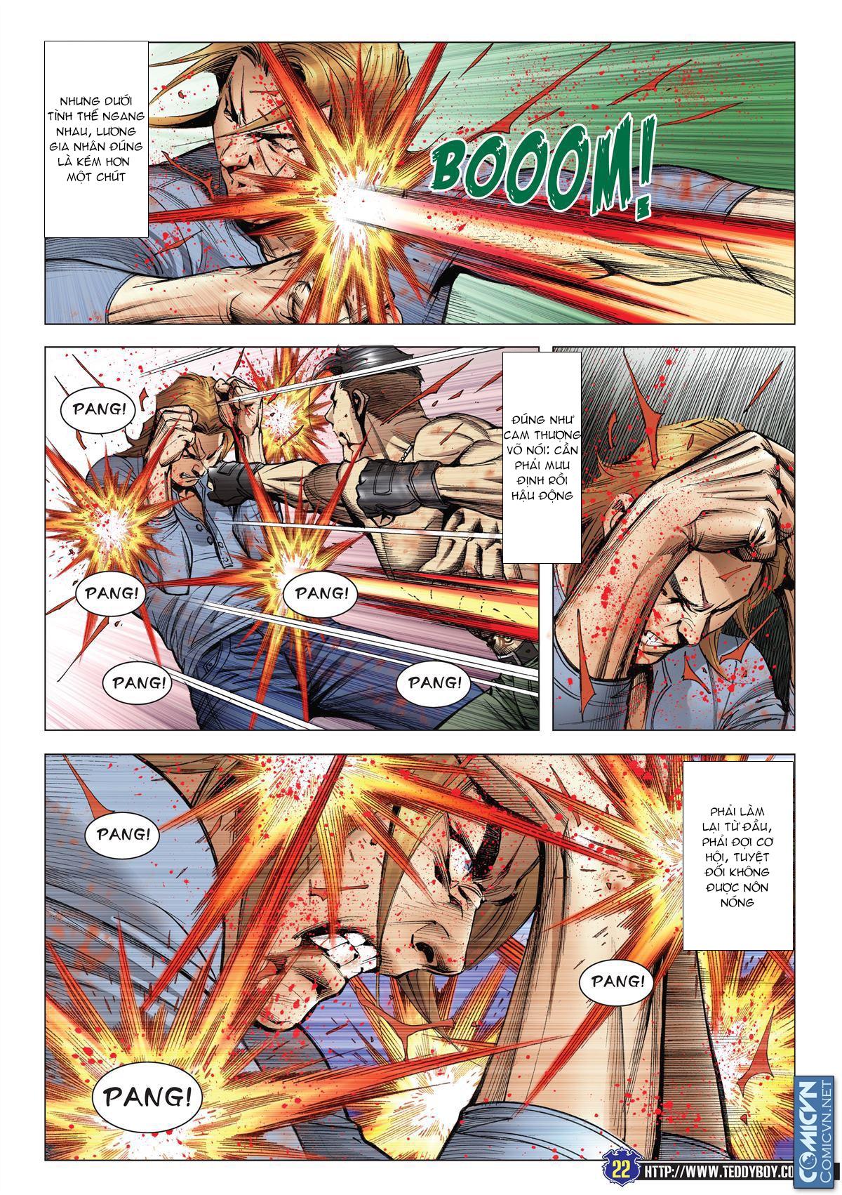 Người Trong Giang Hồ chapter 2138: thắng hết khí thế thua vì đen trang 17