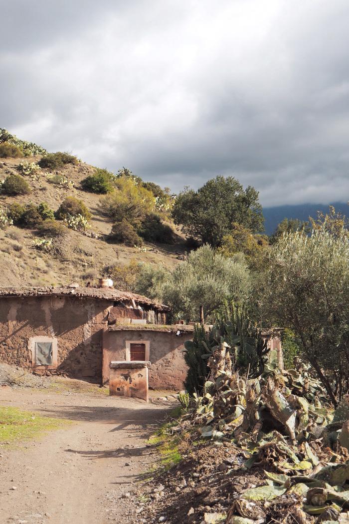 Village marocain près de Ouirgane