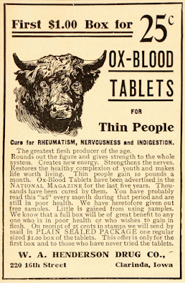 Oxblood tablets for thin people