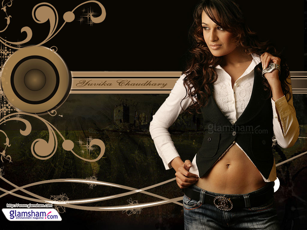 Hot Wallpapers: Yuvika Chaudhary Hot Wallpapers
