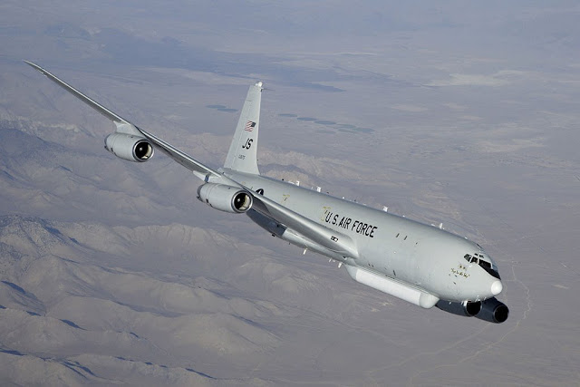 E-8C JSTARS engine failure