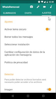 Recuperar mensajes de Whatsapp eliminados