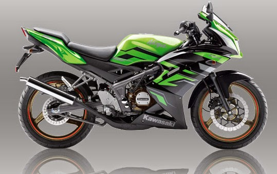 New Kawasaki Ninja 150 RR