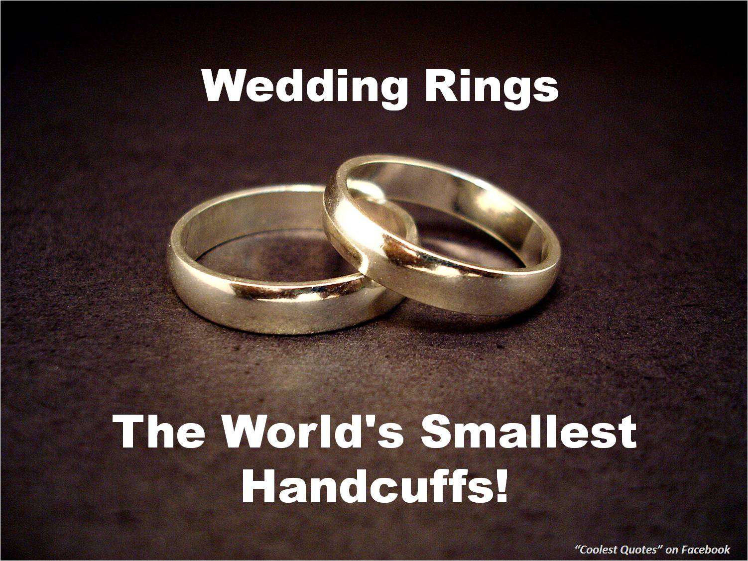 The World S Smallest Wedding Ring
