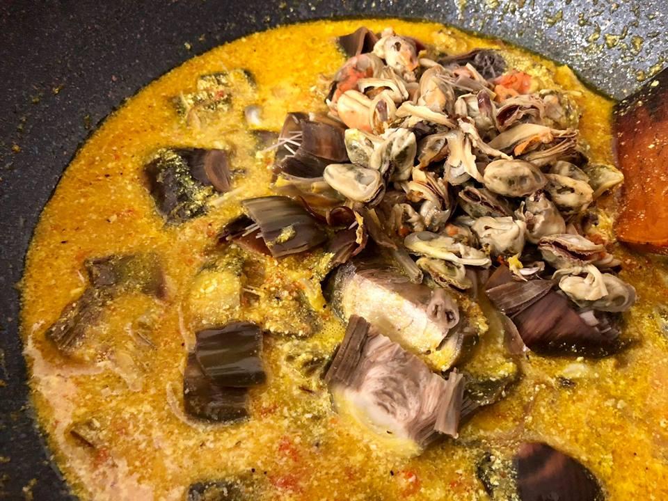 resepi masak kupang langkah kupang mussels berlado  kam aneka masakan enak hidangan ni Resepi Ikan Masak Asam Halia Enak dan Mudah