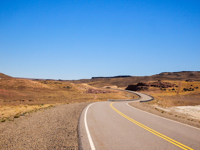 Estrada em El Calafate, Argentina