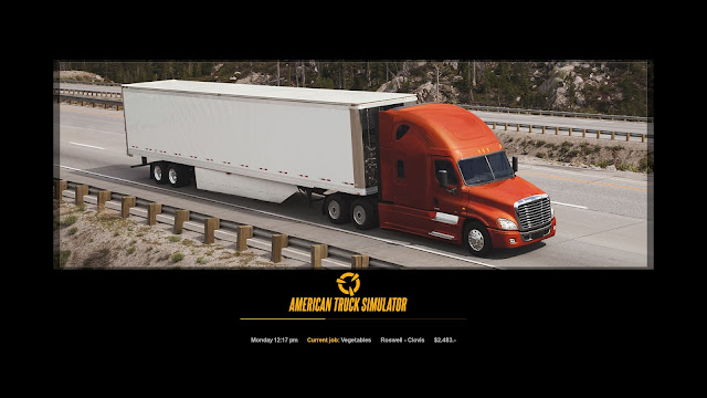 ats new photo loading screens 1, peterbilt