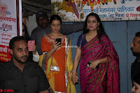 Shraddha Kapoor and Padmini Kolhapuri at Inauguration Of Pandit Padharinath Kolhapure Marg Exclusive  38.JPG