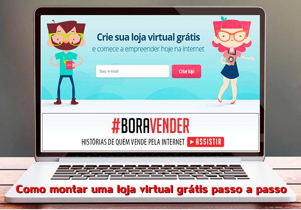 10ed33ac5 Como Montar Uma Loja Virtual Grátis Passo A Passo - Como Vender Pela ...