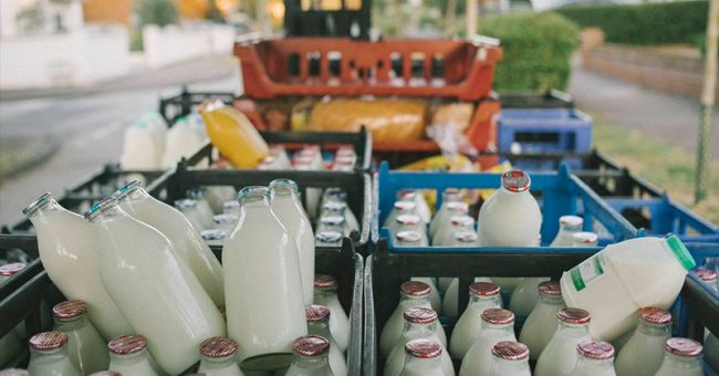 Milkmen Are Returning As Millennials Bid To Reduce Plastic Waste