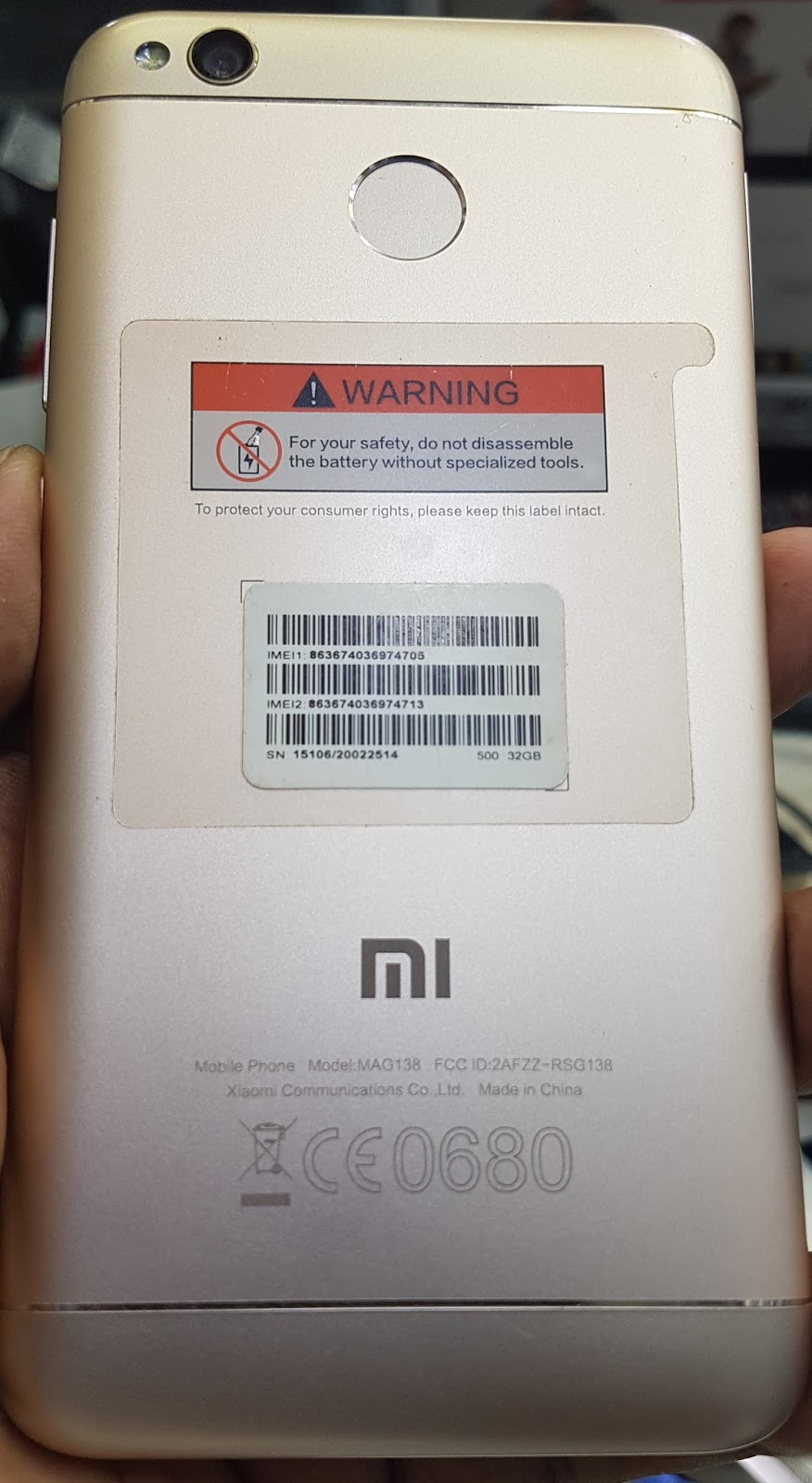 Xiaomi Mi Redmi 4x Flash File MSM8937 Stock Firmware Cm2