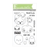 FBS Pumpkin Friends 4x6 Clear Stamp Set